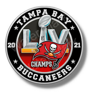 Tampa Bay Buccaneers Super Bowl 55 2021 Champions Vinyl Stickers / Decal NFL