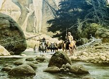 "Frank McCARTHY Signed Lithograph ""ALONG THE WEST FORK"" Ltd. Ed. #313/1000"