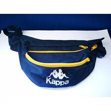 KAPPA Marsupio Vintage unisex 3 scomparti Blu&Giallo