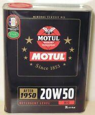 Motul 2100 Classic 20W50 Engine Oil 2L for Toyota Holden Ford Chevrolet Volvo VW
