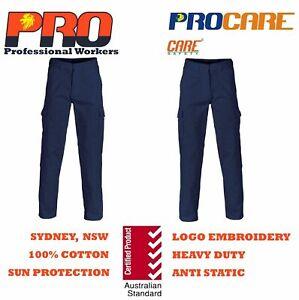 Cargo pants 100% Cotton Drill Heavy Duty 8 pockets ProCare JC1101