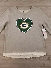 NFL Green Bay Packers Girls Youth Official NFL Team Apparel Sweatshirt sz XL L46