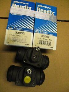 2 Bendix 33962 Wheel Cylinders Fits Chevy GMC Truck 1988 1989 1990 1991