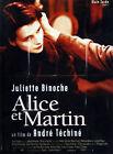 Affiche 120x160cm ALICE ET MARTIN (1998) André Téchiné - Juliette Binoche NEUVE