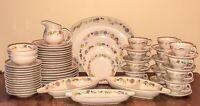 Franciscan WOODLORE Dinnerware Set 66 Pieces w/ Serving Pieces MCM BOHO VTG EUC