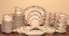 Franciscan Woodlore Dinnerware Set 66 Pieces w/ Serving Pieces Mcm Boho Vtg Euc