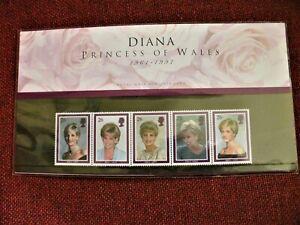 GB 1997 - DIANA PRINCESS OF WALES 1997 PRESENTATION PACK