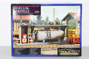 Pola G 921 Spur G LGB Diesellok-Tankstelle Bausatz OVP geöffnet, ungebaut (S61)