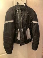 Spidi Motorcycle On Track Black Jacket  Made In Italy Size Xxl , Great Condi