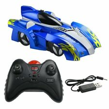 Kids Remote Control Cars Rechargeable Wall Celing Climbing Electric Toys LED UK
