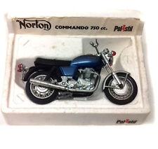 Vintage 70's Polistil Harley NORTON 750 COMMANDO Motorbike 1/15 Scale + BOX