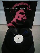 "James Brown – Duets Vinyl 12"" LP Polydor 841-516-1 1989"