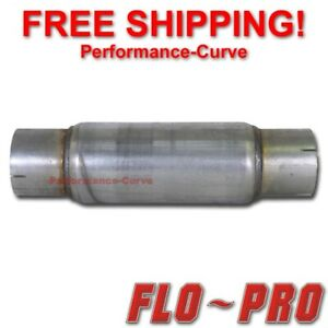 "Flo Pro Twister F5 Exhaust Muffler - Race / Diesel / Resonator 4"" In - 18"" Long"