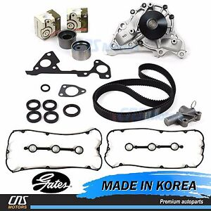 Timing Belt Kit Hydraulic Tensioner Water Pump Valve Cover for 03-06 Kia Sorento