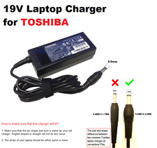 65W Charger for TOSHIBA Satellite L830-11G Libretto W100-106, W105