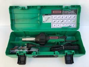 Leister Triac ST 141.227 Plastic Welder Hot Air Hear Gun 230V 1600W