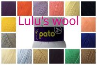 Pato Value DK 100g wool yarn **FREE POST** BUY 3 or more get 10% OFF