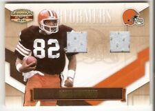OZZIE NEWSOME JERSEY SERIAL /100 2008 DONRUSS GRIDIRON GEAR PERFORMERS 34 BROWNS