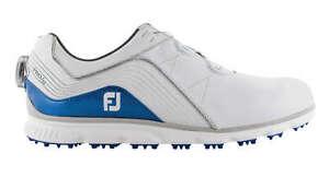 FootJoy Pro SL BOA Golf Shoes 53274 WHITE/BLUE - 15 MEDIUM