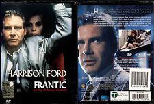 FRANTIC (Harrison Ford) - DVD NUOVO E SIGILLATO, PRIMA EDIZIONE SNAPPER