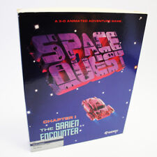 Space Quest Chapter 1 Atari ST Game RARE IN BOX TESTED WORKING FREE FAST SHIP