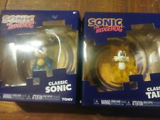 Sonic The Hedgehog Classic Tails and Classic Sonic Figure Tomy