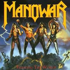 MANOWAR FIGHTING THE WORLD VINILE LP COLORATO (PISS YELLOW VINYL) NUOVO