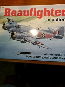 Beaufighter in Action Aircraft #153 SC Jerry Scutts 1995 Squadron/Signal