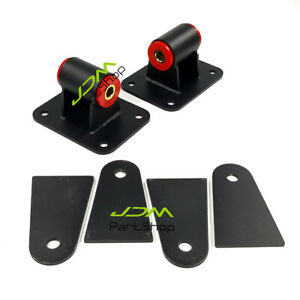 Universal Engine Motor Mounts for LS LS1 LS2 LS3 LS6 4.8L 5.3L Conversion Swap