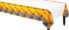 "DINOSAUR PARTY SUPPLIES DECORATION TABLE COVER TABLE CLOTH 54"" x 96"""