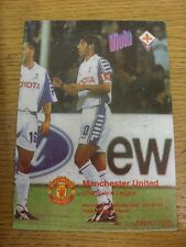 23/11/1999 FIORENTINA V Manchester United Champions League [] [pirata: MODIFICA Viola