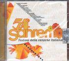 54° SANREMO FESTIVAL DELLA CANZONE ITALIANA - CD (NUOVO SIGILLATO)