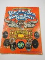 Ringling Bros Barnum Bailey Circus Souvenir Program 1970 100th Edition