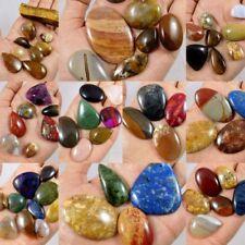 100% Natural Lot Of Mix Stone Cabochon Gemstone K37,39,RM20820 Free Shipping