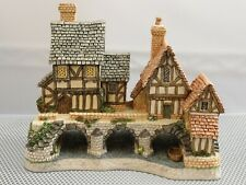 David Winter Cottages Arches Thrice Cottage Signed By David Winter Coa Box