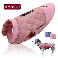 Kleine Mittlere Hunde Kleidung Reflektierend Hundemantel Winterjacke Wasserdicht