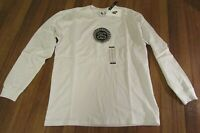Nike Stussy SS Link Long Sleeve L/S Tee T-Shirt Size Medium White Brand New NWT