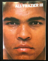 Muhammad Ali vs. Joe Frazier III - Official Fight Program - 1975 - Boxing - Rare