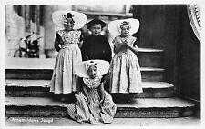 B94276 arnemuiden s jeugd real photo types folklore costumes  netherlands