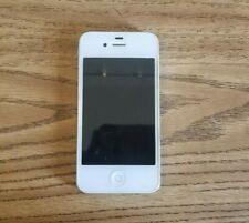 Apple iPhone 4s - 16GB - White (Unlocked) A1387 locked
