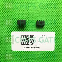 3PCS Instrumentation Amplifier IC BB/TI DIP-8 INA118P INA118PG4