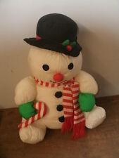 """16"""" Cloth Snowman"""