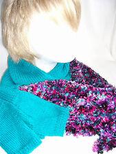 Hand-knitted Scarf & Fingerless Gloves Ref 934