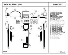 Real Carbon Fiber Dash Kit for BMW Z3 1997-1999 Full kit BMW-14A