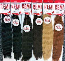 "[2 PACKS DEAL]REMI Human Hair Blended Wet N Wavy Style 20~22"" Micro Braid - RMSB"