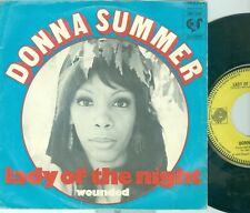 """DONNA SUMMER - LADY OF THE NIGHT ( DUTCH GROOVY RECORDS GR 1208) 7""""PS 1974"""