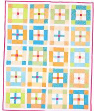 Angus's Cot Quilt - fun & easy pieced quilt PATTERN - Emma Jean Jansen