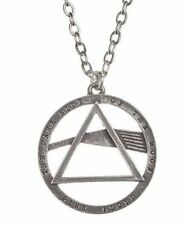 Alchemy England - Pink Floyd: Dark Side, Prism Pendant Necklace, Rocker, Pewter