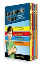 Encyclopedia Brown Box Set (4 Books): By Donald J. Sobol