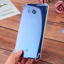 For HTC U11 U11Plus U11eyes Clear Anti Impact Shockproof TPU Gel skin case cover